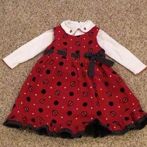 Girls Corduroy Dress SZ 5